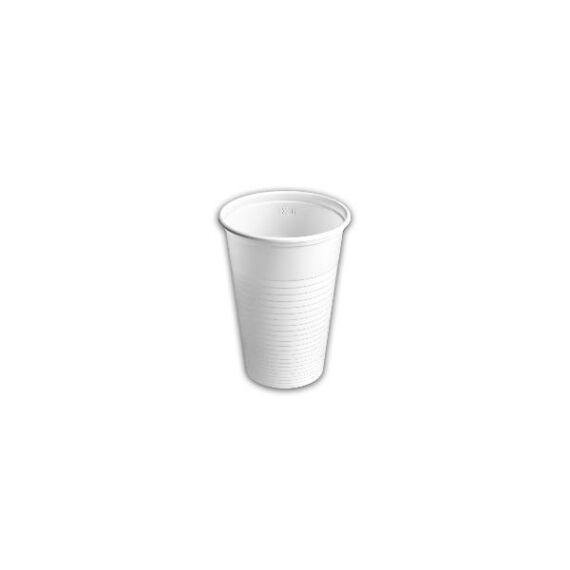 3 dl pohár fehér 20db-os