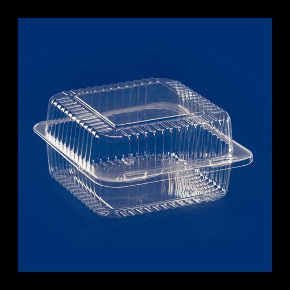 Süteményes doboz ALI25 PET 125x125x59 mm