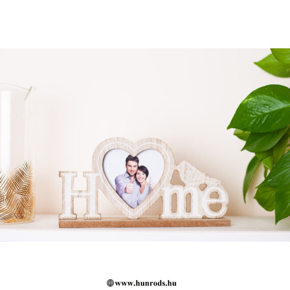 """Fa""""HOME""""felirat fényképtartóval SFT783365"""