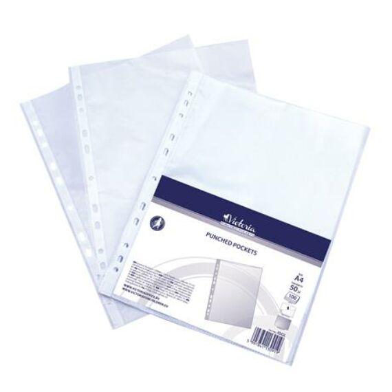 Genotherm, lefűzhető, A4, 50 mikron, narancsos felület, VICTORIA
