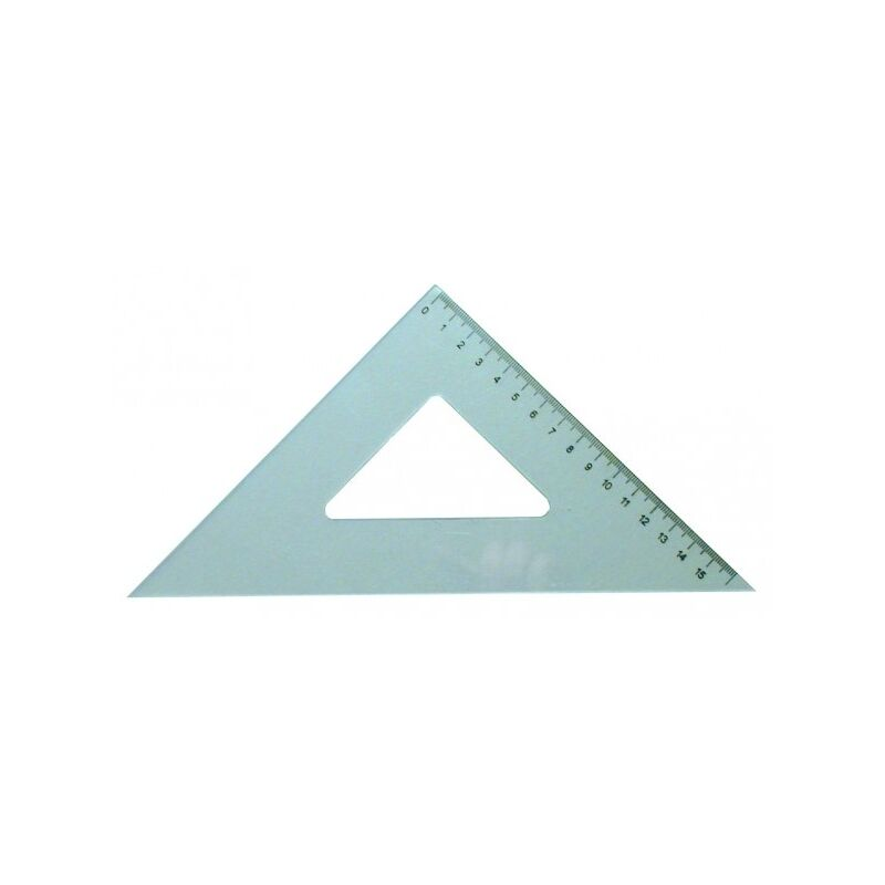 Vonalzó háromszög 45  ͦ16 cm