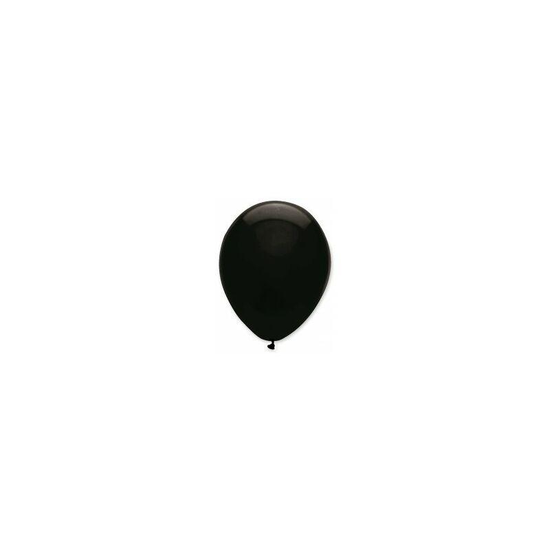 Gumi lufi, 10 db-os, 30cm, Fekete 122