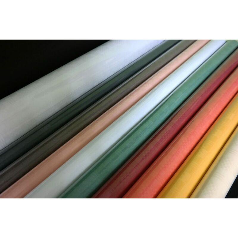 Asztalterítő 7x1,2 m színes,fehér