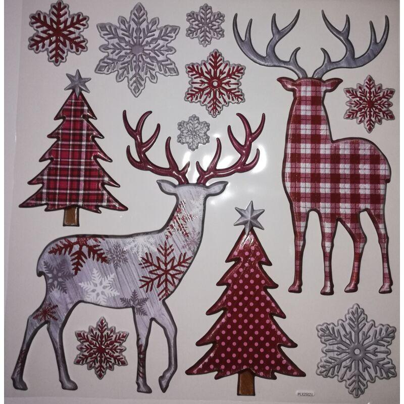 Ablakdekor karácsonyi LK782542
