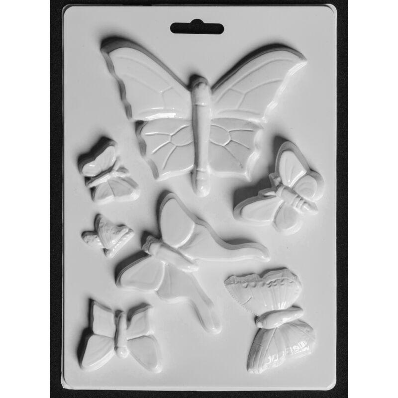 Gipszkiöntő forma Pillangók 206