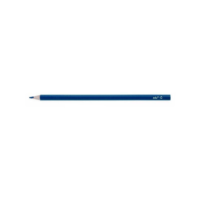 EDU3 színes ceruza háromszög vékony KÉK