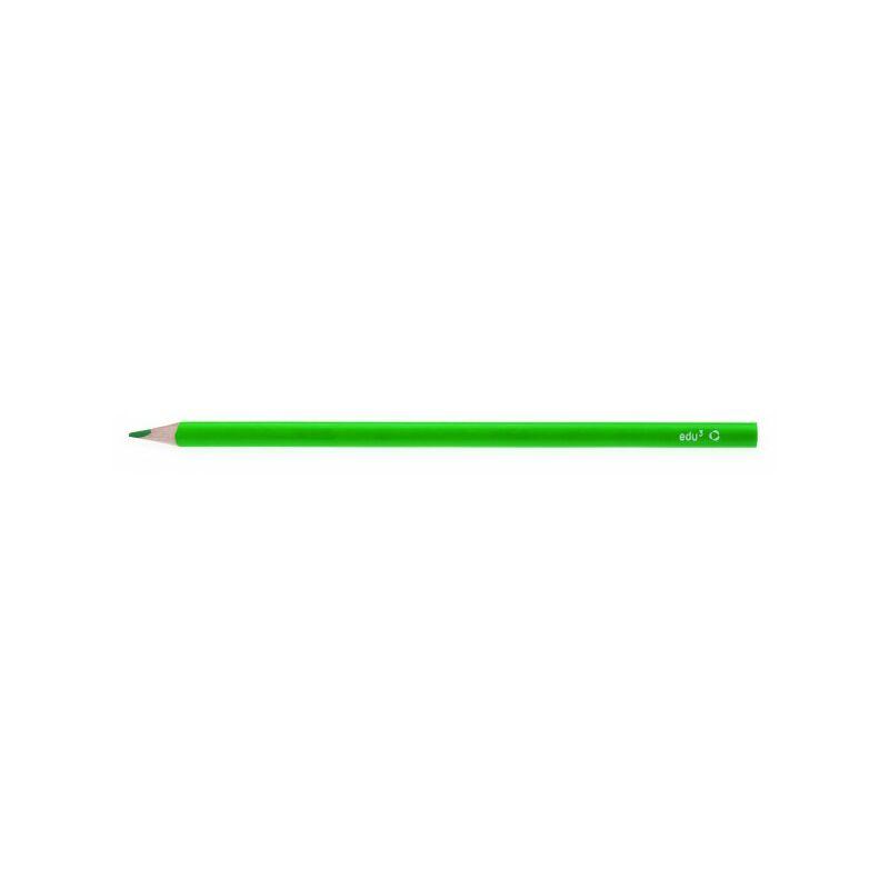 EDU3 színes ceruza háromszög vékony ZÖLD