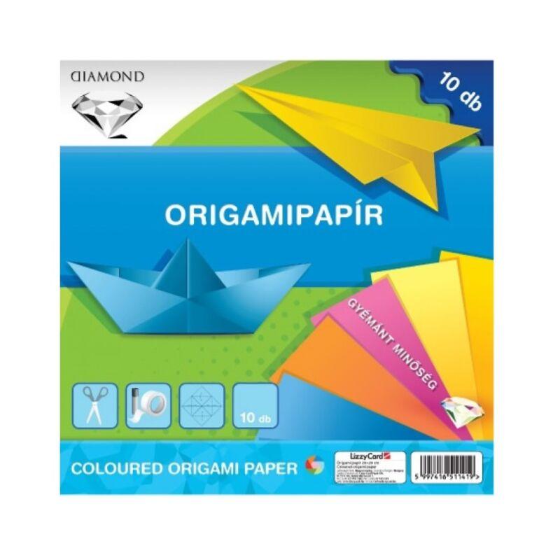 Origami papír 20x20 gyémánt