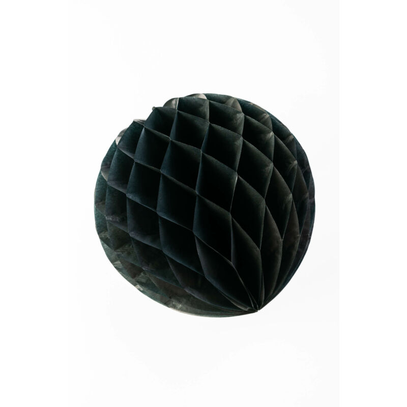Lampion gömb fekete színű 30 cm