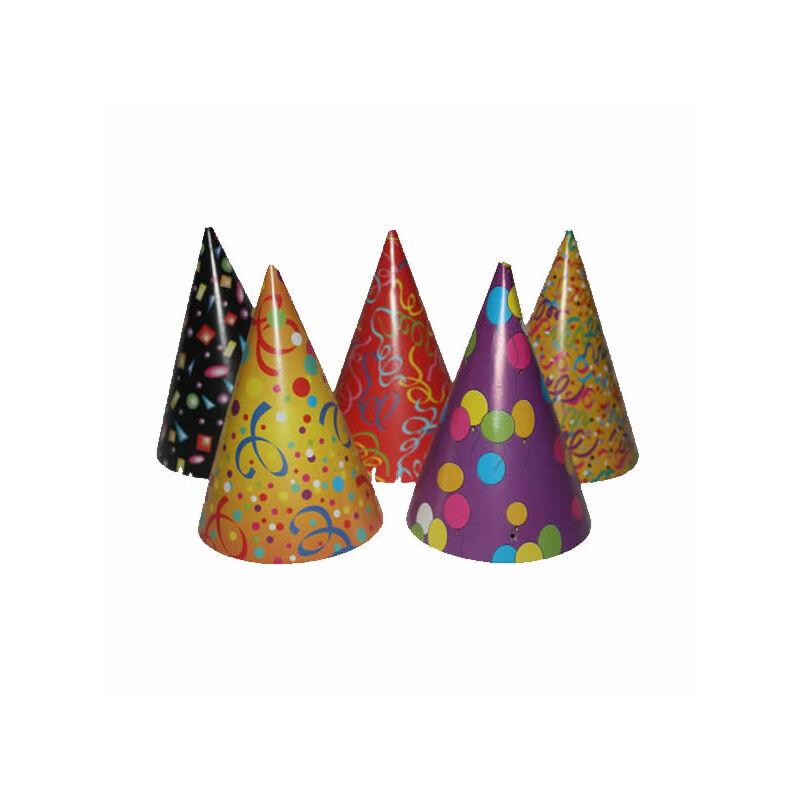 Party csúcsos kalap 6 db.-os