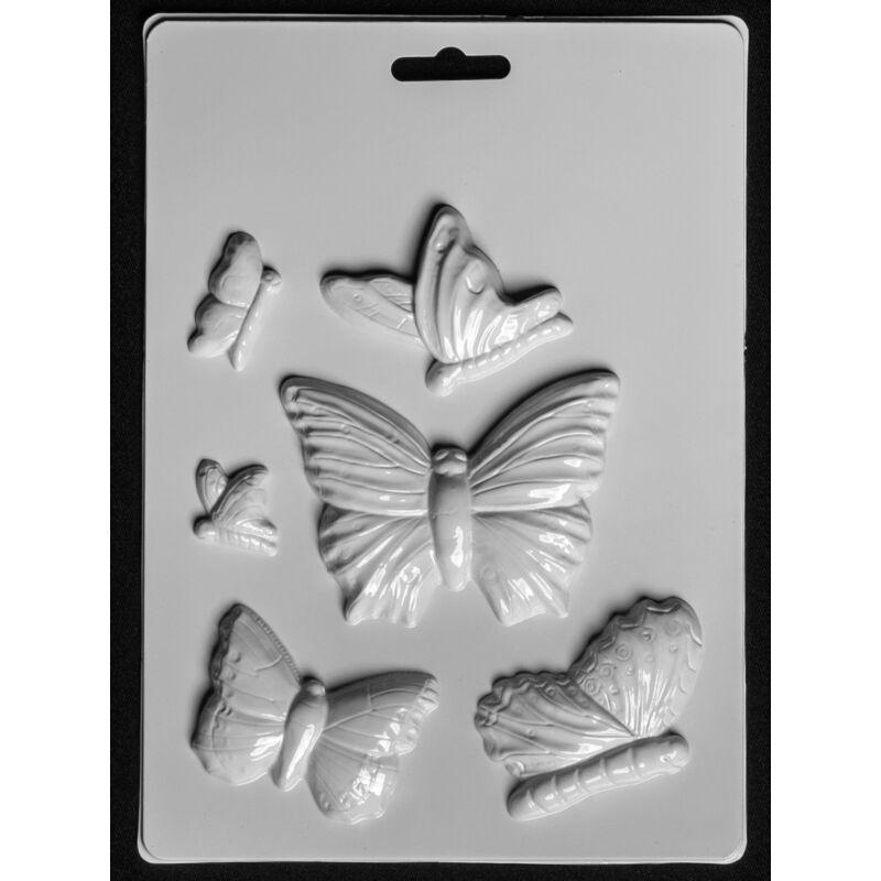 Gipszkiöntő forma Pillangók 240
