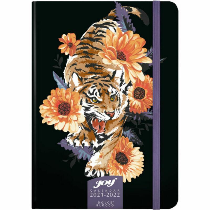 Dolce Blocco JOY Calendar heti tervező 2022 Tiger B6