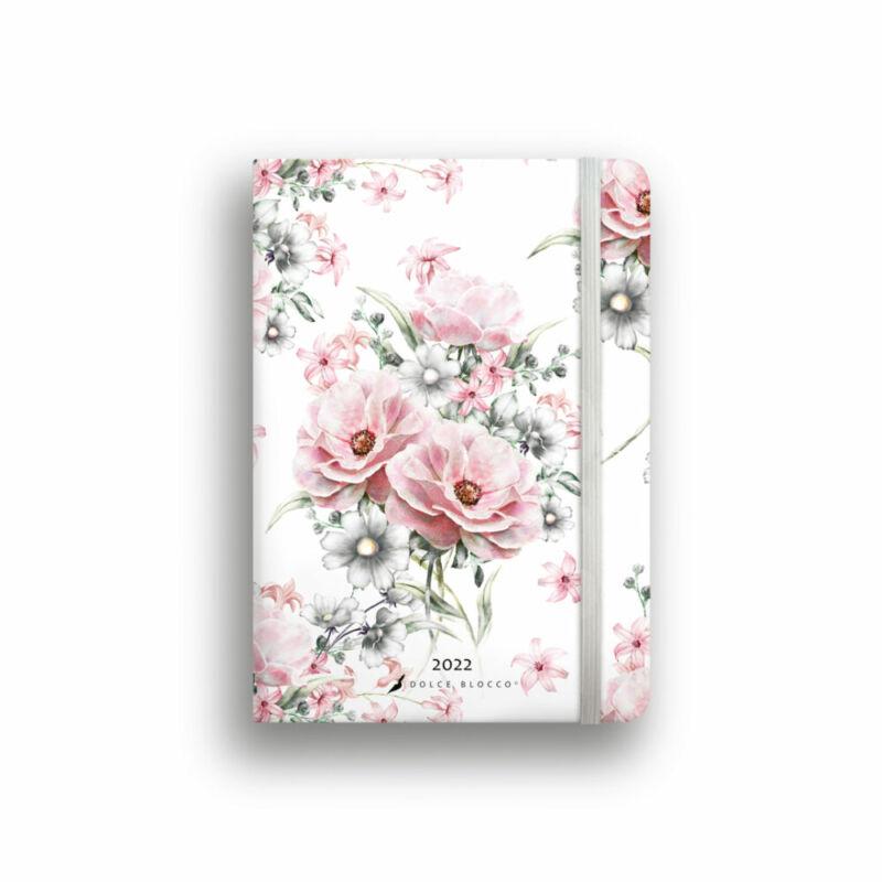 Dolce Blocco Secret Journal pontozott tervező 2022 Beautiful B6