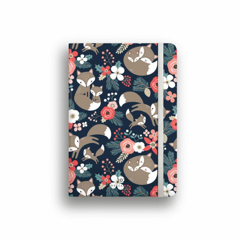 Dolce Blocco Secret Diary napi tervező 2022 Little Fox B6