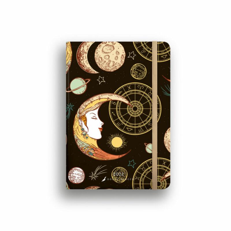 Dolce Blocco Secret Diary napi tervező 2022 Luna B6