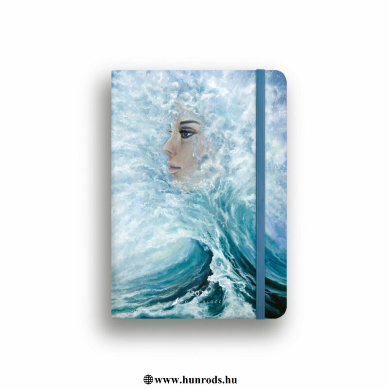 Dolce Blocco Secret Calendar Grande B6 heti tervező 2022 Queen of the Sea