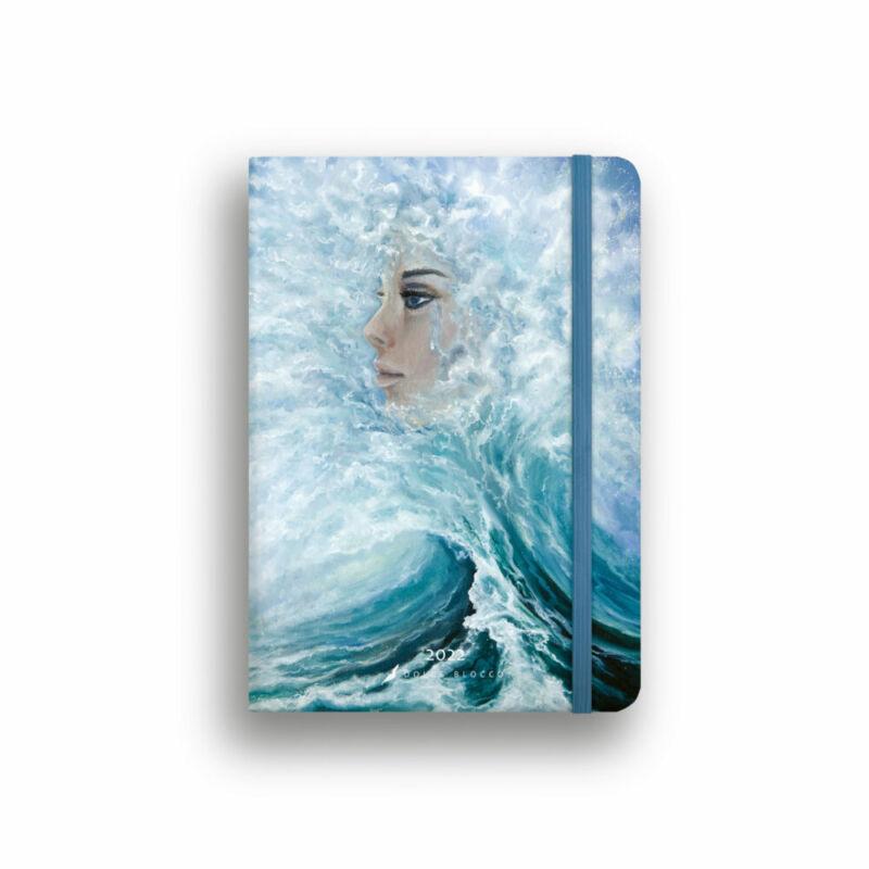 Dolce Blocco Secret Calendar heti tervező 2022 Queen of the Sea B6