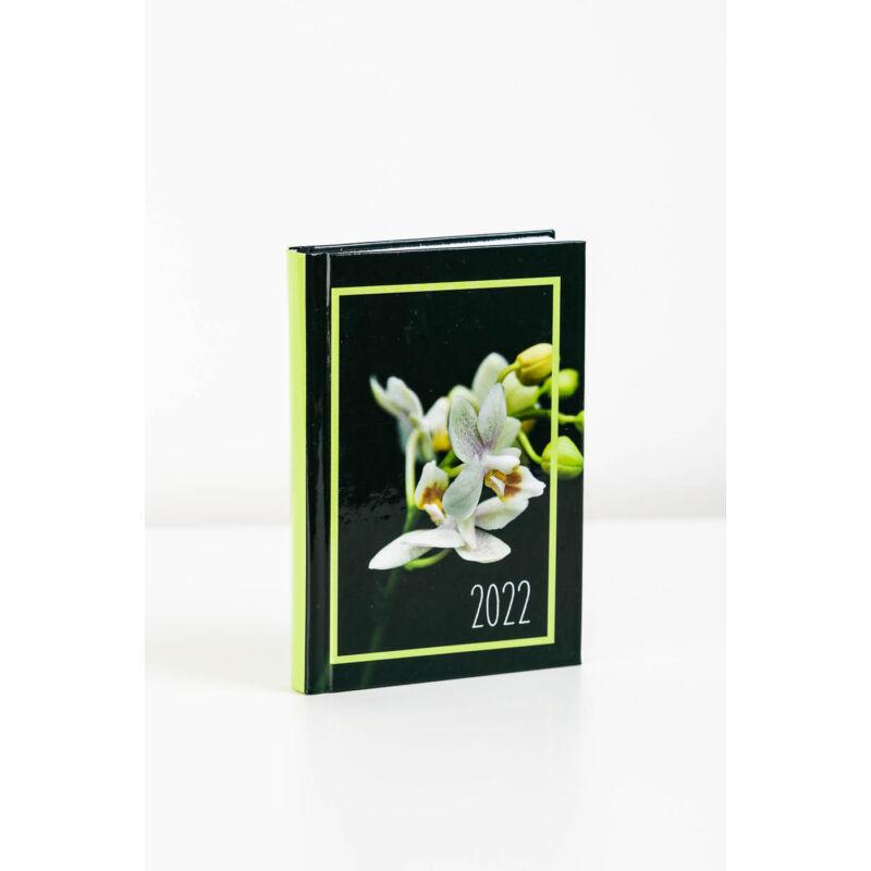 Zsebnaptár 2 napos virág PAPÍRMINTÁS Sz 2022