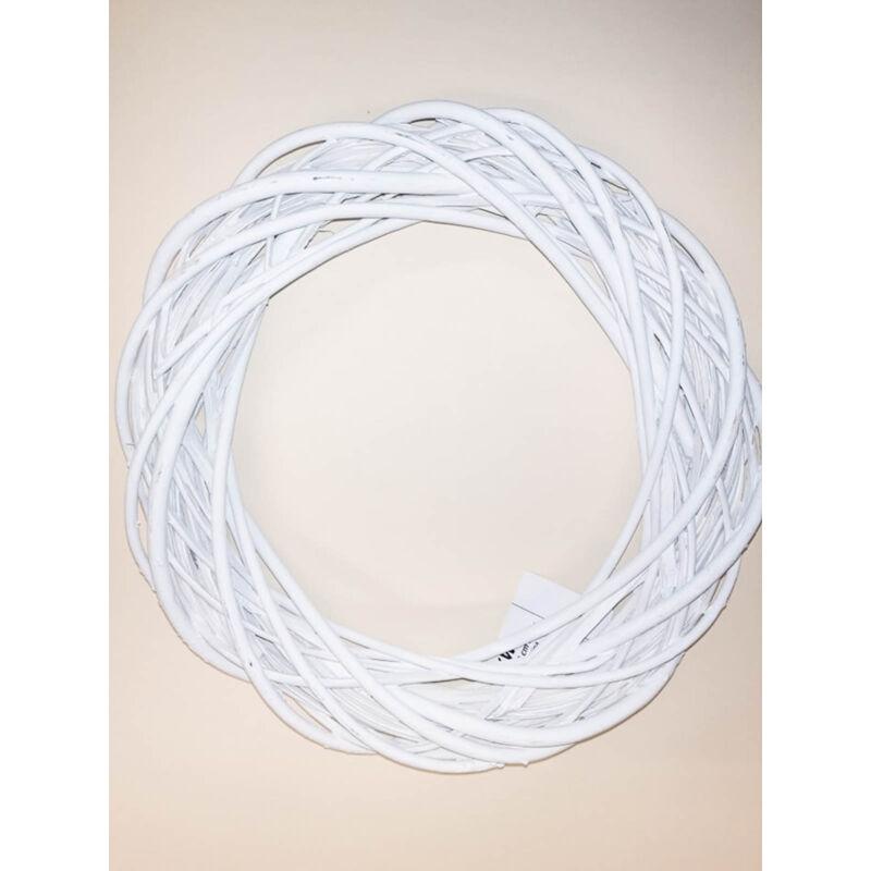 Fehér koszorúalap 25cm