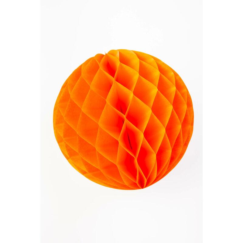 Lampion gömb narancsszínű 30 cm